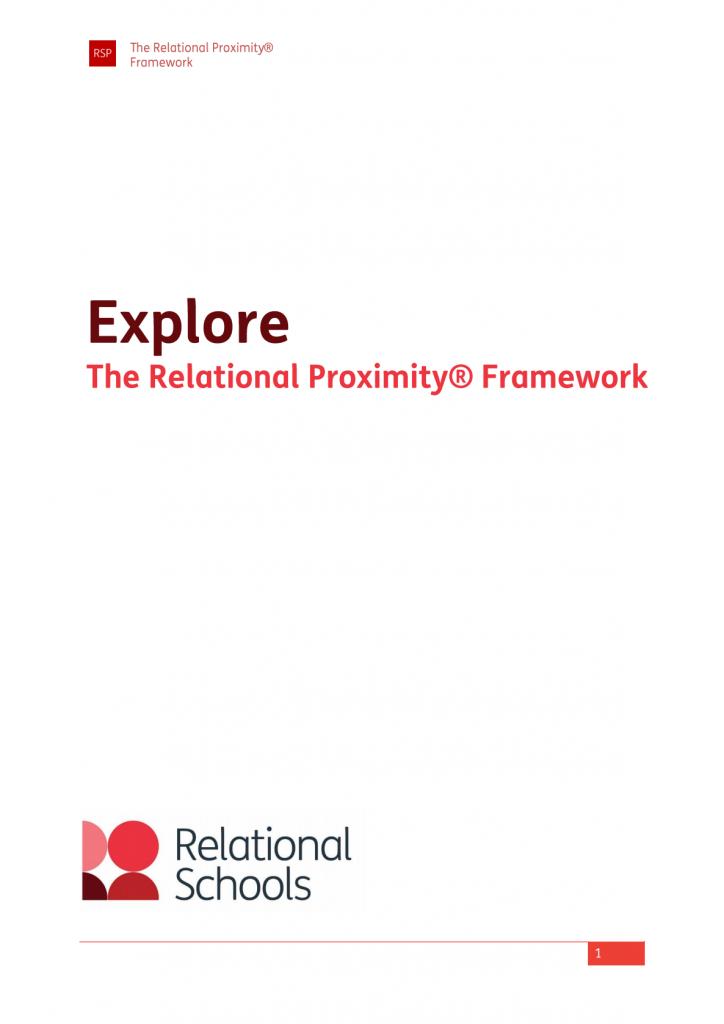 The Relational Proximity Framework